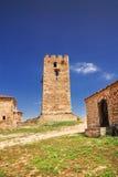 Old tower, Nea Fokea, Halkidiki Stock Photos