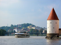 Old Tower in Passau Royalty Free Stock Image