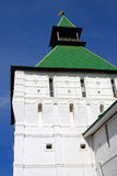 Old tower renovated. Trinity Sergius Lavra. Royalty Free Stock Photo