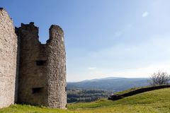 Old tower ruin Royalty Free Stock Images