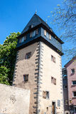 Old tower in Sachsenhausen disctrict Royalty Free Stock Photography