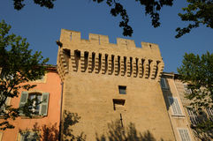 Old tower in Salon de Provence Royalty Free Stock Image