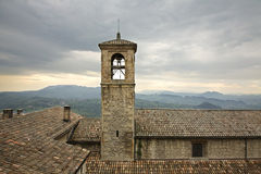 Old tower in San Marino Royalty Free Stock Images