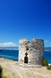 Old tower at seaside Stock Photography