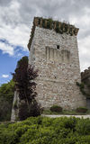 Old tower in Spello Royalty Free Stock Photography