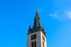 Old Tower of St. Stephen Church Royalty Free Stock Photography