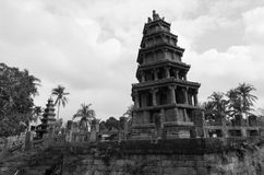 Old tower. Old stone tower in Chengmai,hainan Royalty Free Stock Photography