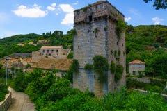 Old Tower, Sudurad Royalty Free Stock Photo