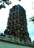 The old tower of thanjavur maratha palace. The Thanjavur Maratha Palace Complex, known locally as Aranmanai, is the official residence of the Bhonsle family who stock photos