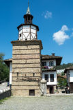 Old tower in Tryavna, Bulgaria Stock Images