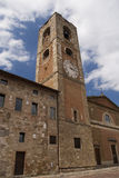 Old tower in tuscany Stock Photography