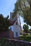 Old Tower of Waltham Abbey church, England, UK Royalty Free Stock Photo