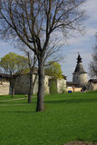 Old towers in Pskov Royalty Free Stock Photo