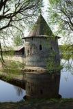 Old towers in Pskov Stock Photo