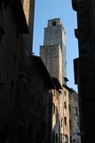 Old Towers in San Gimignano Royalty Free Stock Photography
