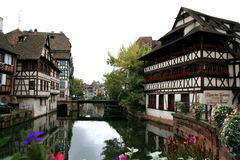 Old town. City of strasbourg, france royalty free stock photo