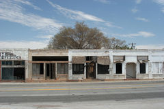 Old town. Abandoned old western US town Stock Photos