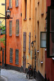 Old town. The old city in stockholm Stock Photo