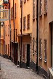 Old town. The old city in stockholm Royalty Free Stock Images