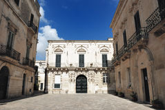 Old Town. Summer view of an old southern Italy town Royalty Free Stock Image