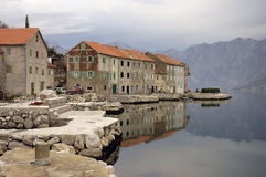 Old town 2. Old town  in montenegro Stock Image