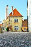Old Town. In Tallinn, Estonia Royalty Free Stock Image