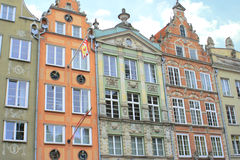 Old town. Gdansk Stock Images