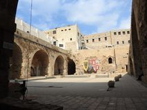The old town of Acre. Israel. Royalty Free Stock Photo