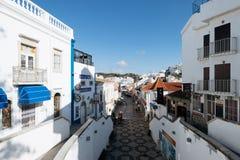 Old Town , Albufeira, Algarve, Portugal Stock Photos