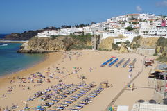 Old town Albufeira Royalty Free Stock Photography