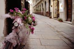 Old town of Alghero, Sardinia, Italy Stock Photography