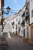 Old Town Altea Stock Image