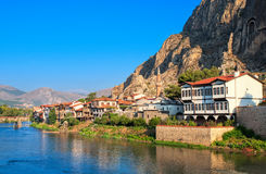 Old town of Amasya, Central Anatolia, Turkey Stock Photography