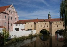 Old town Amberg in Germany Royalty Free Stock Photography
