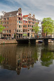Old town of  Amsterdam Royalty Free Stock Image