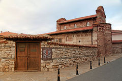 Old Town Ancient Church, Nessebar, Bulgaria. Stock Images