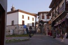 The Old Town of Ankara. The street at the Old Town of Ankara Stock Image