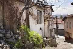 Old town in Ankara. Turkey Royalty Free Stock Photos