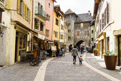 Old town Annecy, France Royalty Free Stock Photos