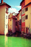 Old Town of Annecy Royalty Free Stock Images