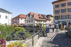 Old town Annecy Royalty Free Stock Images