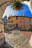 Old town of Annecy in Provence Stock Images