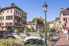 Old town Annecy Royalty Free Stock Photography