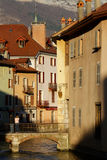 Old town of Annecy Stock Images