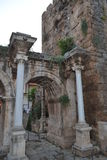 Old town Antalia gate Stock Image