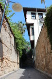 Old Town in Antalya Stock Images