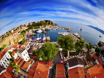 Old town of Antalya is a popular destination among tourists Royalty Free Stock Photography
