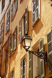 Old town architecture of Nice on French Riviera Stock Photography