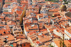 Old town architecture of Nice on French Riviera Royalty Free Stock Photos