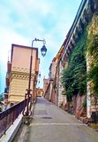 Old town architecture of Nice. Stock Photography